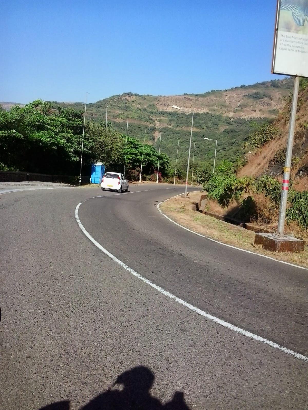 Short ride to lavasa city, Pune