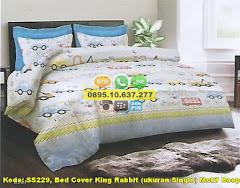 Harga Bed Cover King Rabbit (ukuran Single) Motif Beep Jual