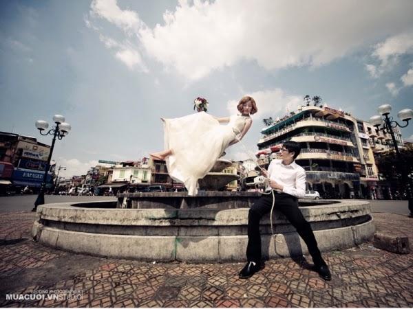 Bộ Ảnh Cưới Độc Và Lạ- Wedding