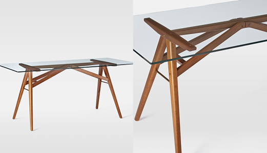 West Elm Jenson Dining Table Review - The Burban Cookie: West Elm Jenson Dining Table Review