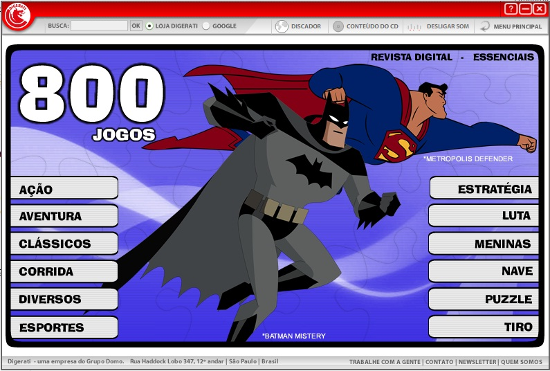 800 Jogos em Flash PC 800 Games