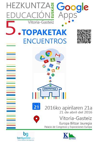V Encuentro EEGApps V Topaketa 2016