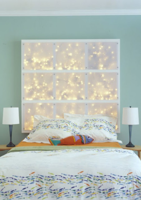 my honey bunch lighted headboard