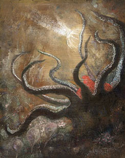 Dipinto di Alfred Kubin