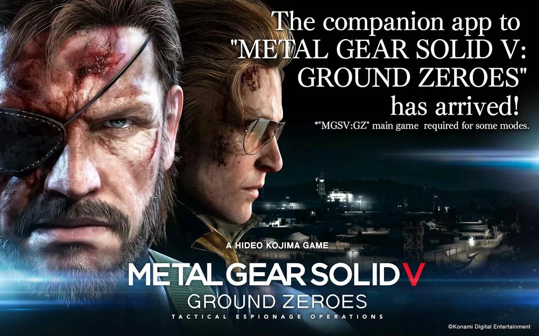 METAL GEAR SOLID V: GZ v1.0.1