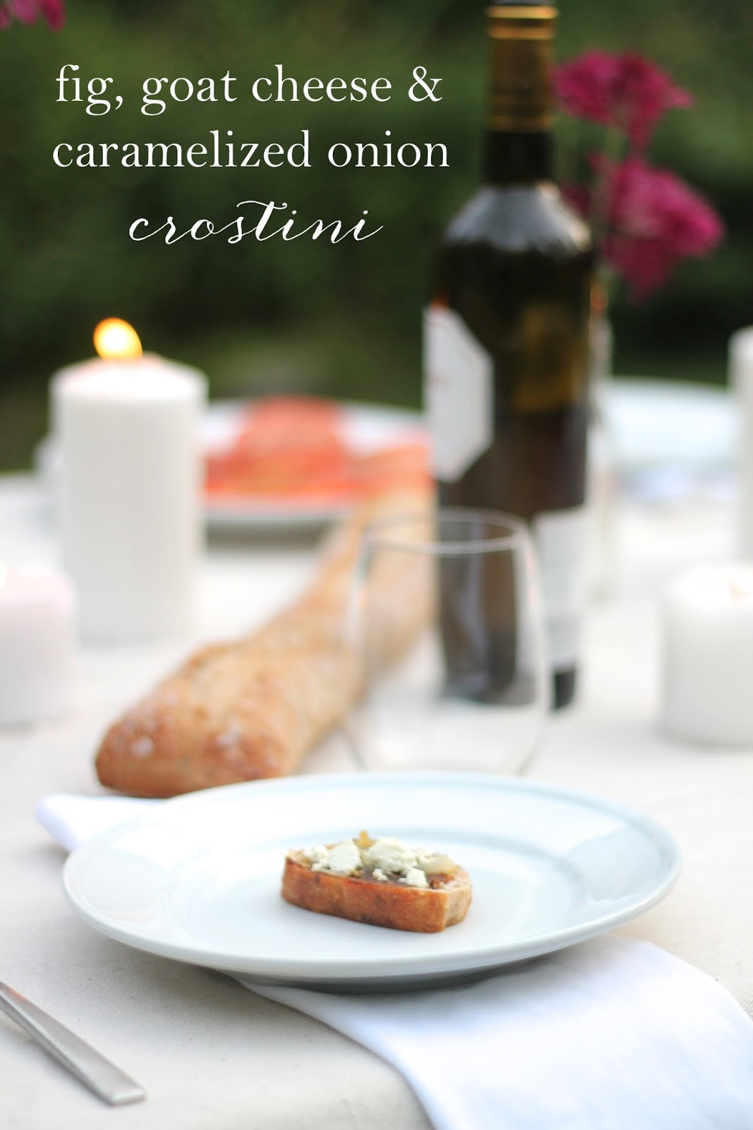 Crostinis are one of the bite sized appetizers that I cannot stop ...