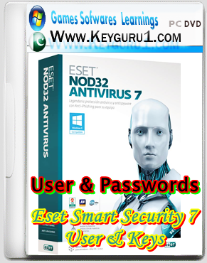 Eset Smart Security 7 Beta User & Passwords