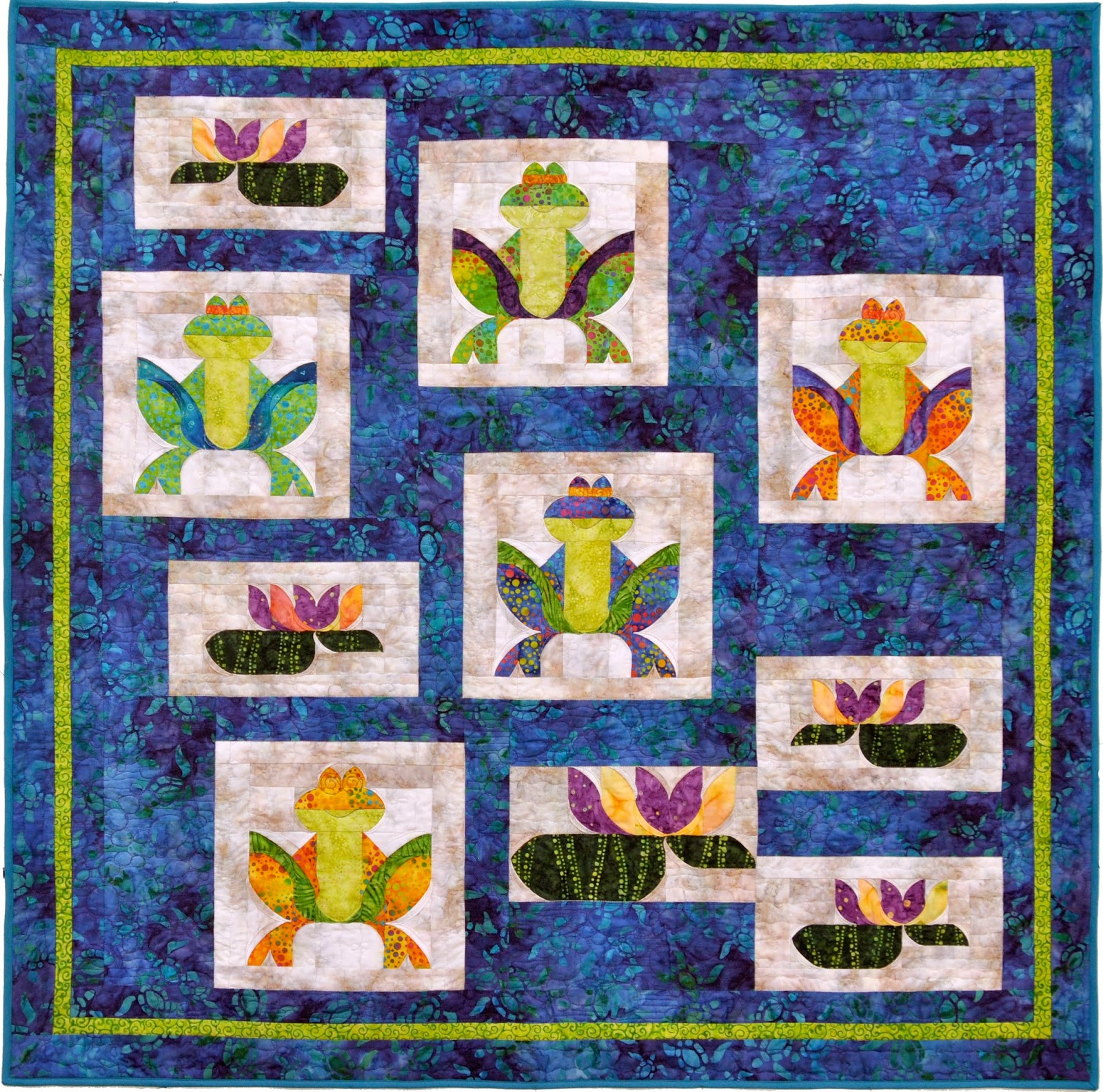 http://www.southwindquilts.com/shop/Wall-Hangings/p/Feeling-Froggy-x2364909.htm