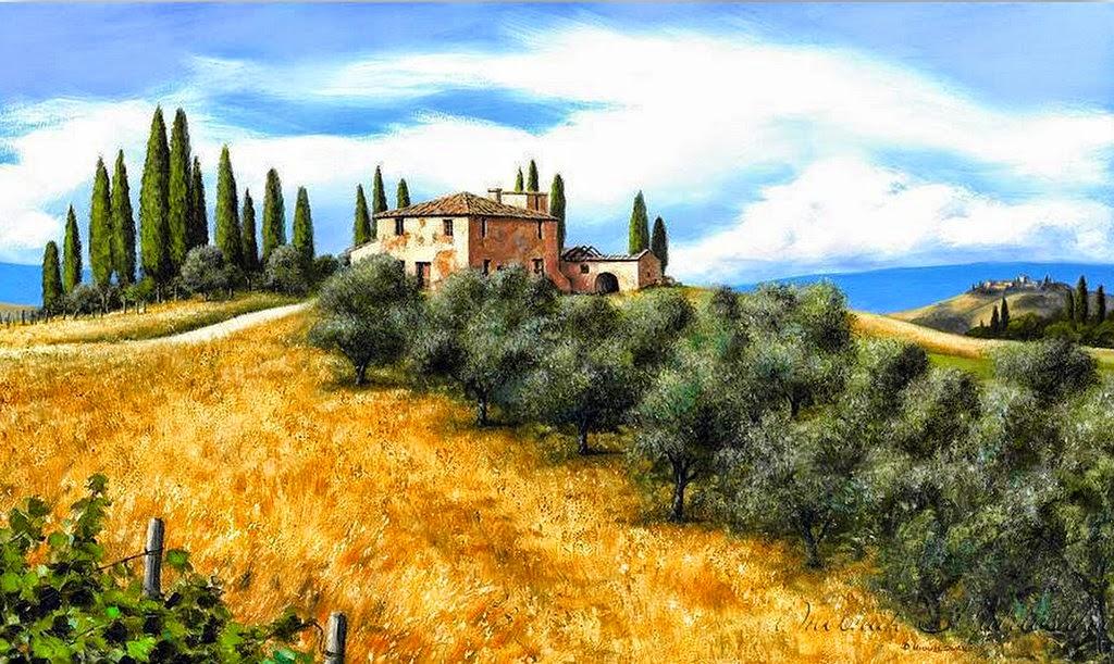 Cuadros modernos pinturas y dibujos ver paisajes de - Cuadros espectaculares modernos ...