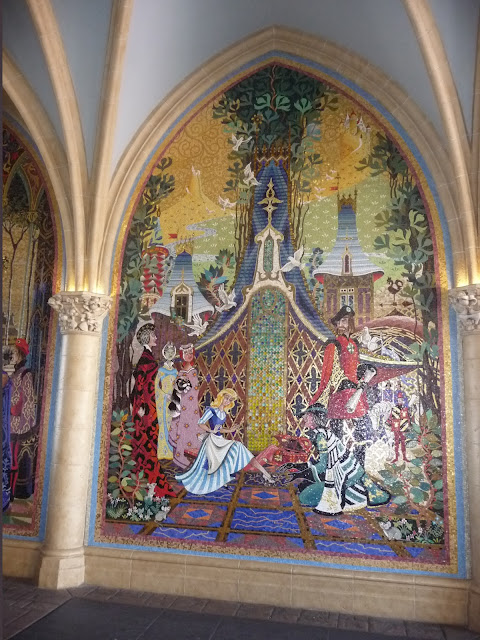 Adventures in pei and beyond a little girl 39 s dream comes for Cinderella castle wall mural