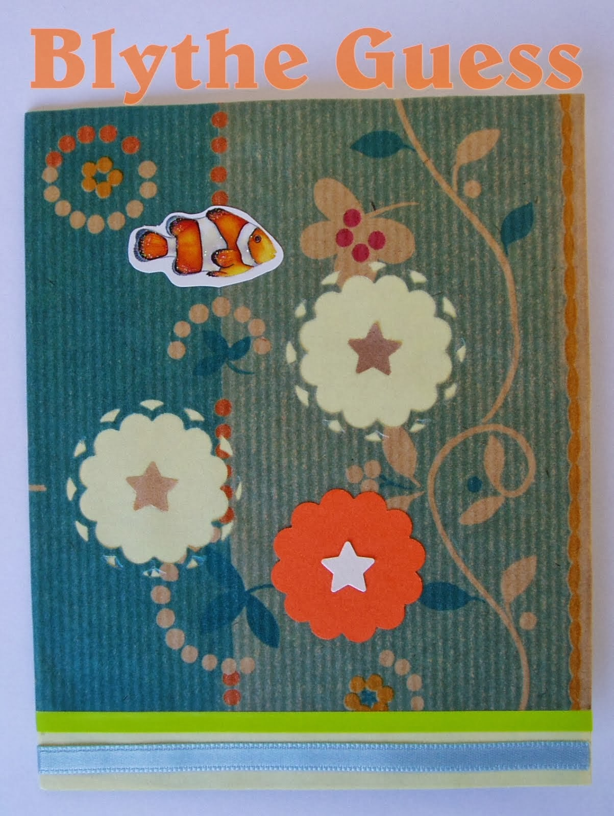 Clown Fish Card
