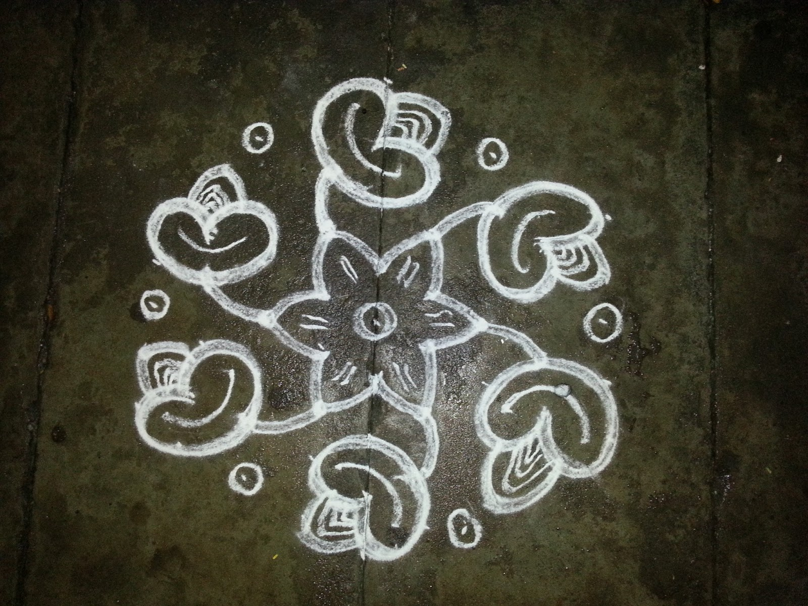 rangoli designs kolam s no 160 9 5 interlaced pulli flower kolam