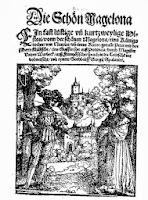 Title page from 'Die schön Magelona', Augsburg 1535