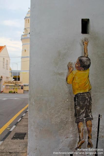 penang street mural