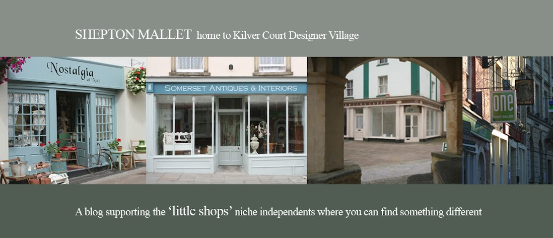 SHEPTON MALLET and Kilver Court shopping in Somerset