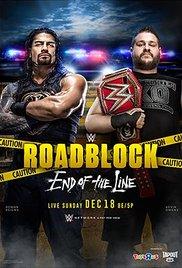 Watch WWE Roadblock: End of the Line Online Free Putlocker