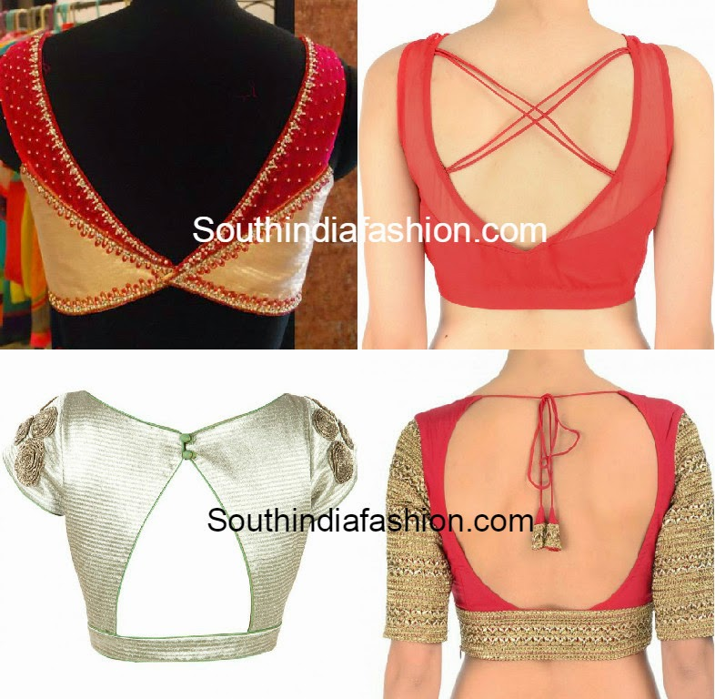 Stand Neck Blouse Designs : Latest blouse patterns images collar blouses