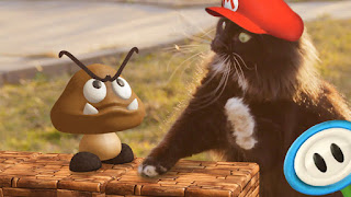 funny cat picture mario bros super mario cat