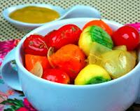 Legumes Bolinha ao Molho de Mostarda com Tomilho (vegana)