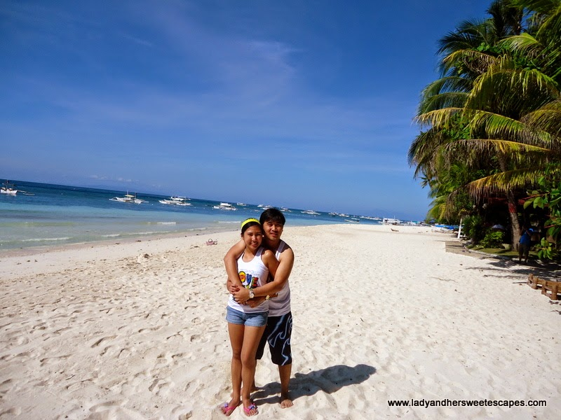 Bohol Day Trip in Alona Tropical Beach Resort Lady her Sweet