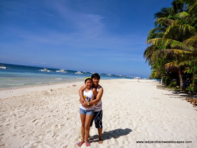 ed_and_lady at Alona Tropical_Beach Resort Bohol