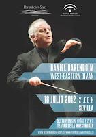 El 18 de julio de 2012 el único concierto en España de la orquesta de la Fundación Barenboim-Said