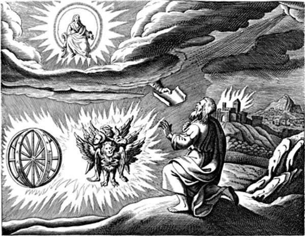 pandangan Ezekiel, sejarah ufo