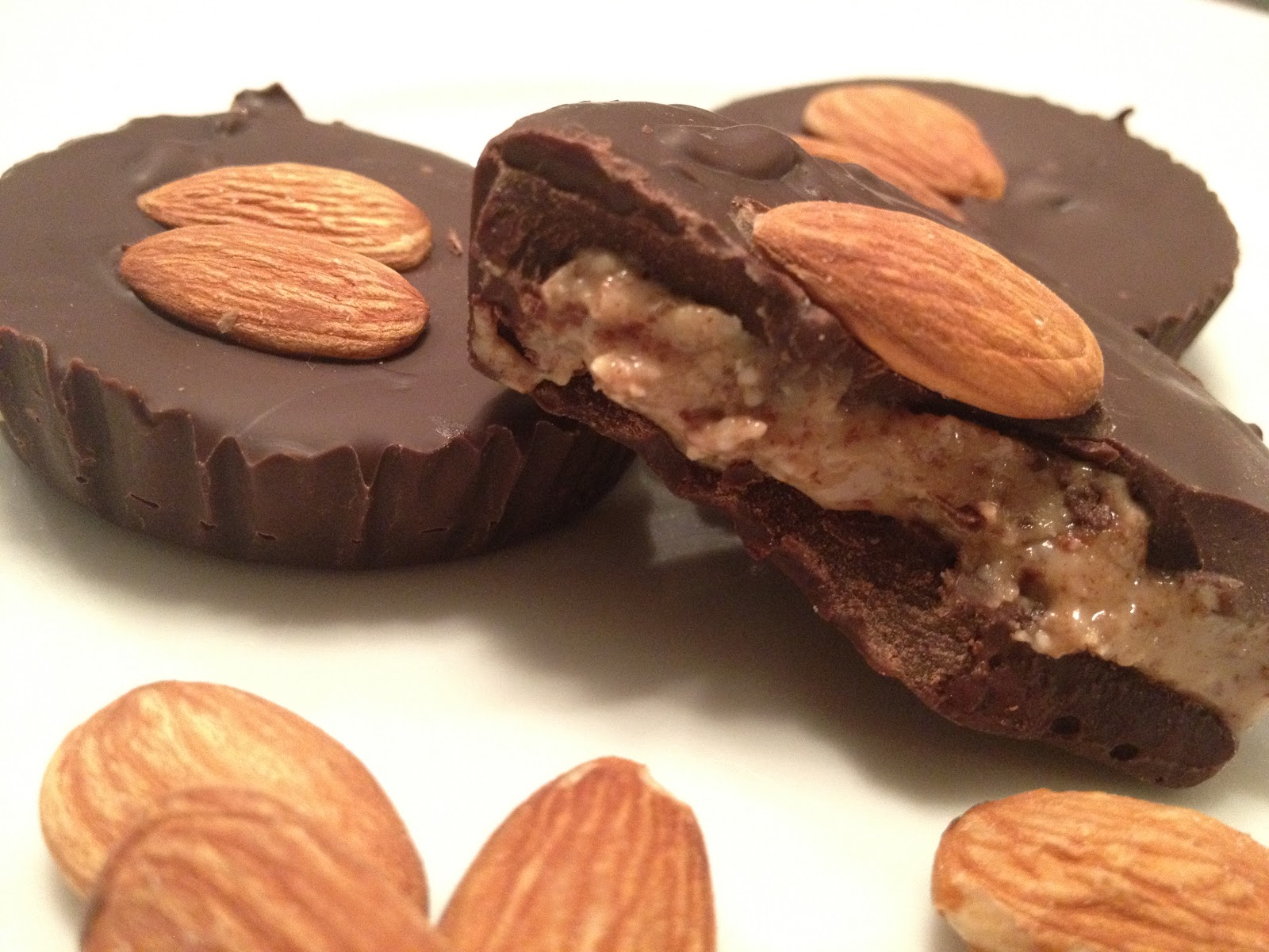 """Kale With Love: """"Reese's"""" Almond Butter Cups"""