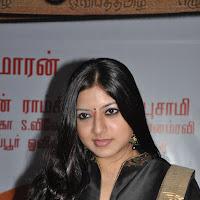 Cute keerthi chawla in black