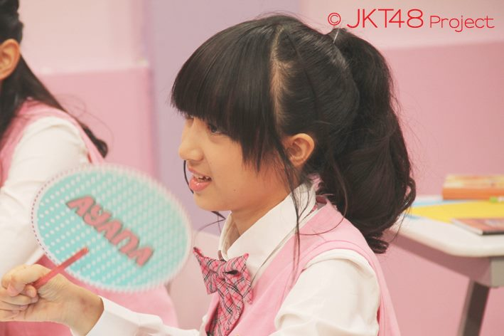 Achan at JKT48 school episode 3