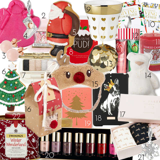 Christmas present stocking fillers advent calendar ideas girls women