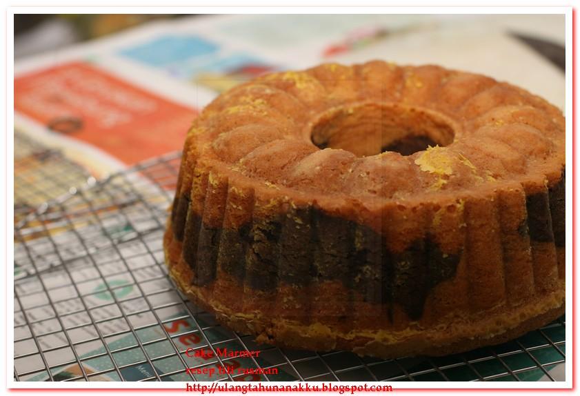 Cara Membuat Butter Type Cake
