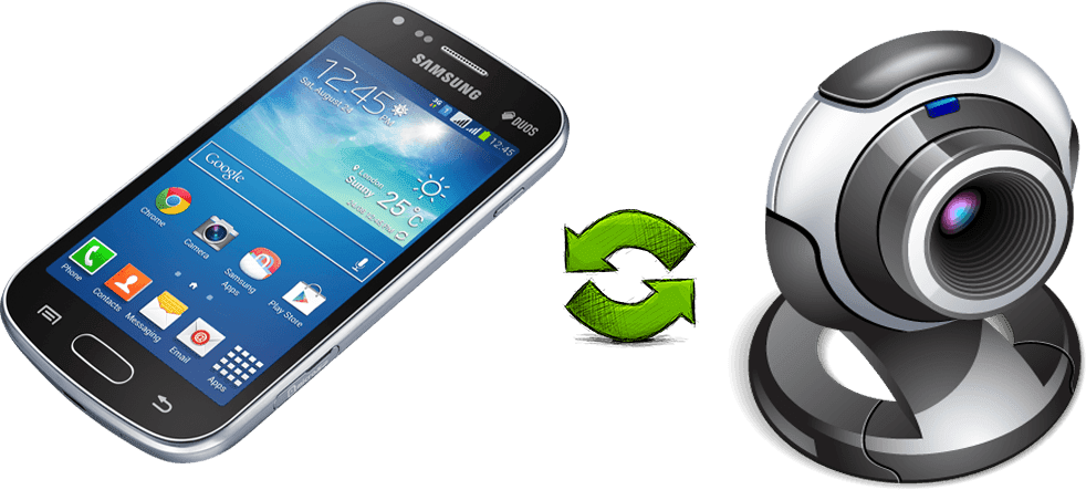 Cell phones with webcam