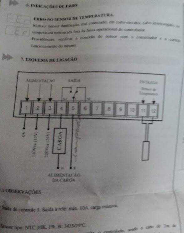 Manual do Pirômetro