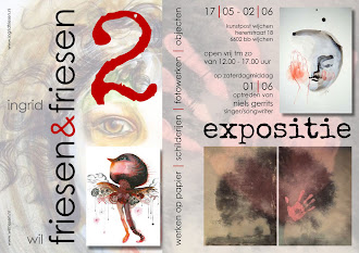 Expositie 17 mei t/m 2 juni 2013
