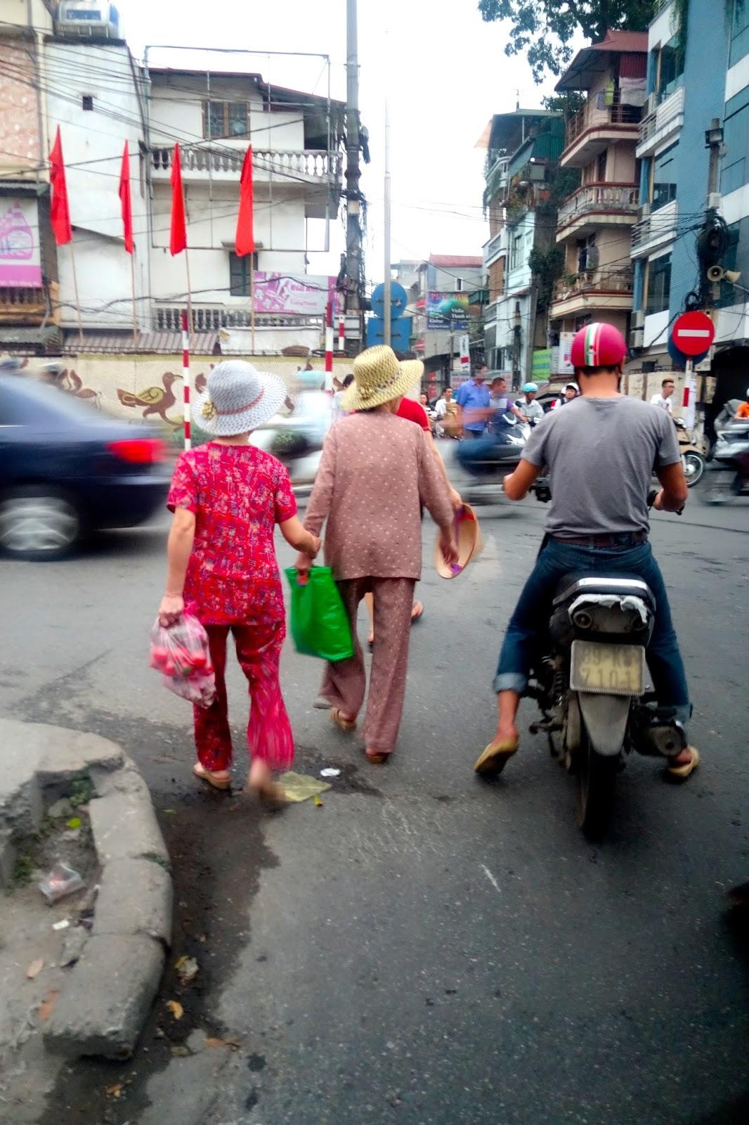 street of Hanoi Vietnam