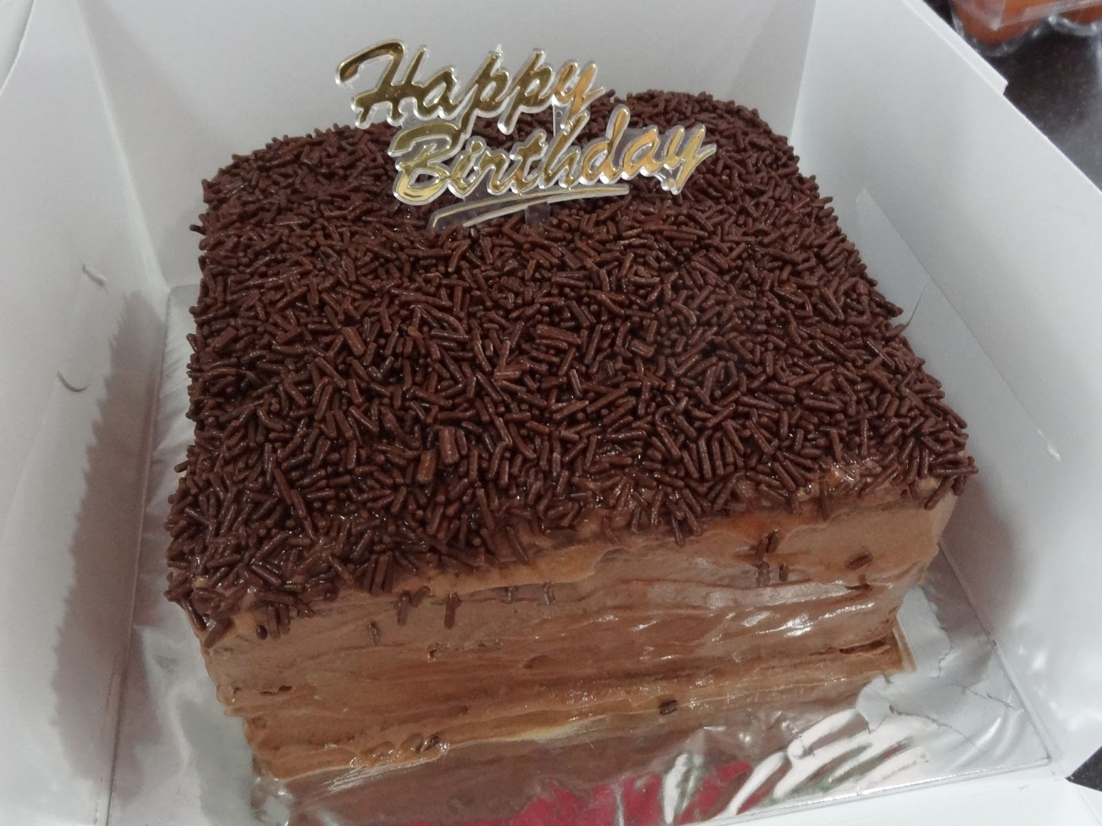 ... Dream . Hope: Chocolate Sponge Cake with Chocolate Nutella Frosting