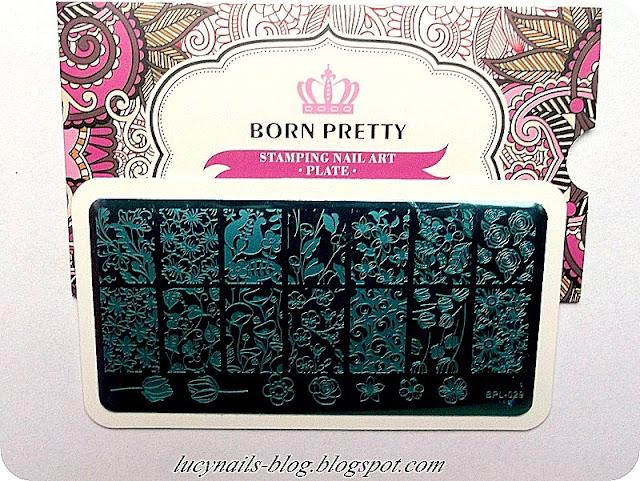 Plate Born Pretty Store BPL-029
