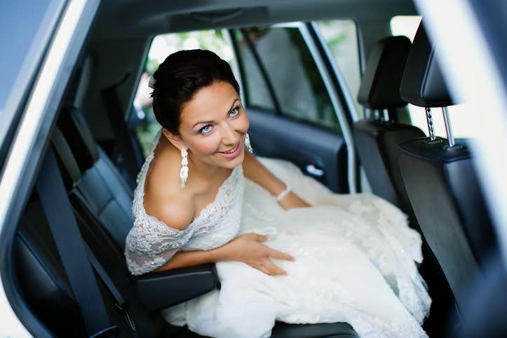 Biżuteria ślubna sutasz śnieżna biel