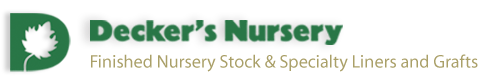 Decker's Nursery Website
