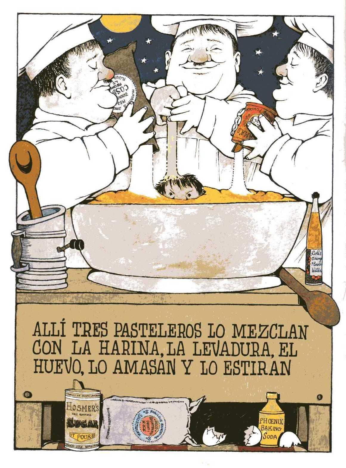 Con los ojos cerraos se ve to naranja la cocina de noche for La cocina completa pdf