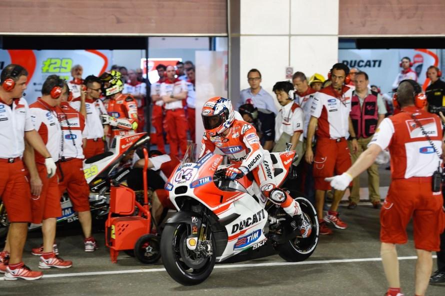 MotoGP : Mampukah Ducati memberikan ancaman pada race pertama musim 2015 malam ini ?