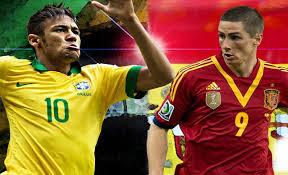 Brasil vs España Final Torneo Copa Confederaciones 2013 por celular computadora