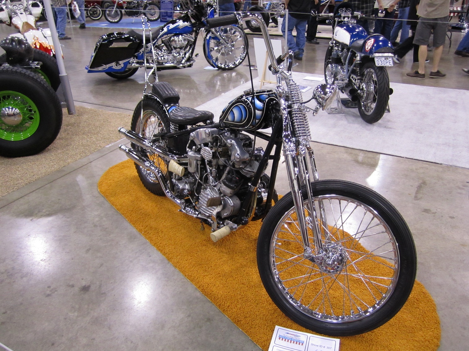 born loser knucklehead chopper for sale
