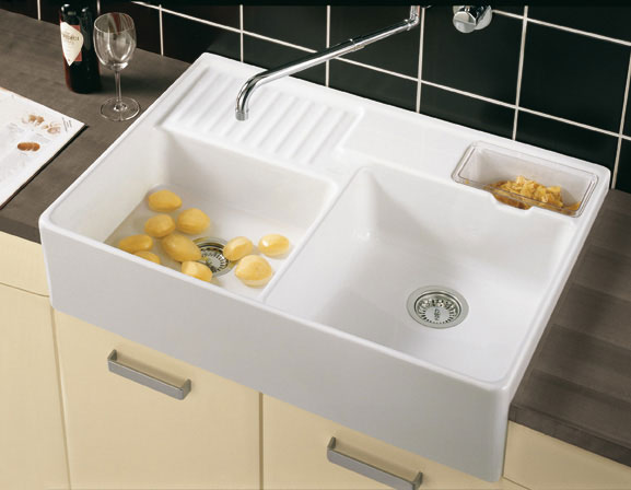 Fregadero ceramico tradicion 2 tu cocina y ba o - Lavabo para cocina ...