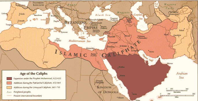 "From the eye of the east"": The Middle Age- Golden Age of Islam Empire"