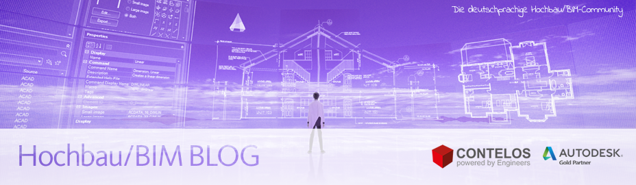 Hochbau / BIM - Contelos Blog - CAD Autodesk Gold Partner