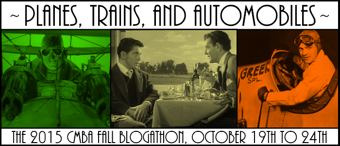 Planes, Trains, and Automobiles - CMBA - Oct. 19-24, 2015