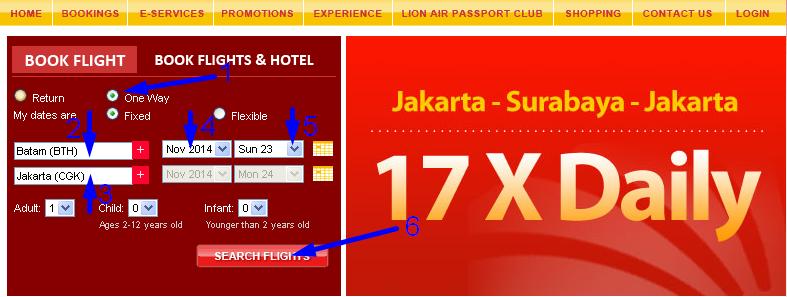 Harga Tiket Pesawat - Cara Cek Tiket Lion Air Secara Online