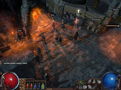 Path of Exile - Lioneye's Watch Town